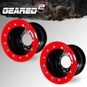10x5 9x8 3+2 Honda 250r Beadlock wheels