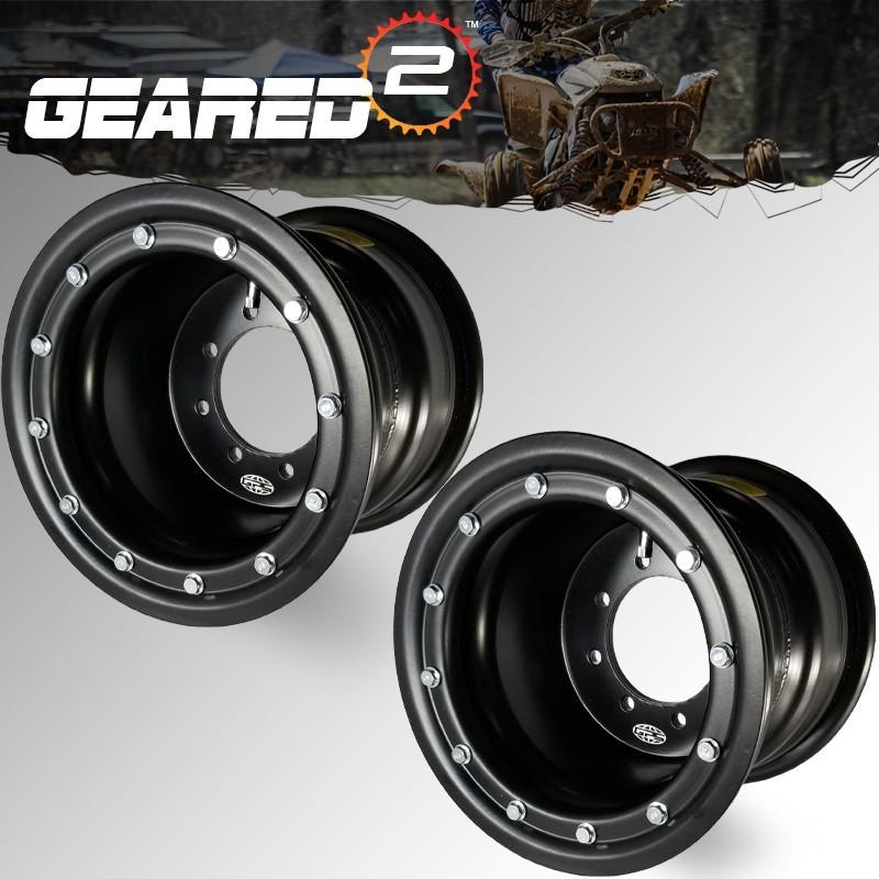 Honda TRX 450r beadlock wheels