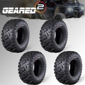 (4) CanAm X3 Tires 30x10x14...